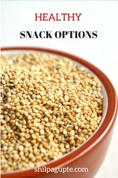 Snacks that are filling, nutritious and tasty.