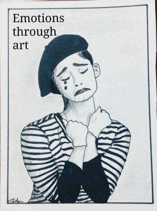 Emotions through art.