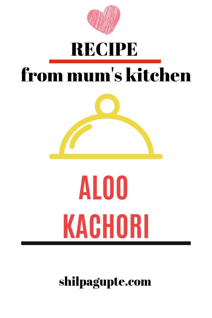 Yummy Aloo Kachori--a school canteen favourite