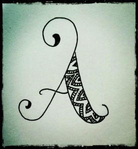 A for Art.