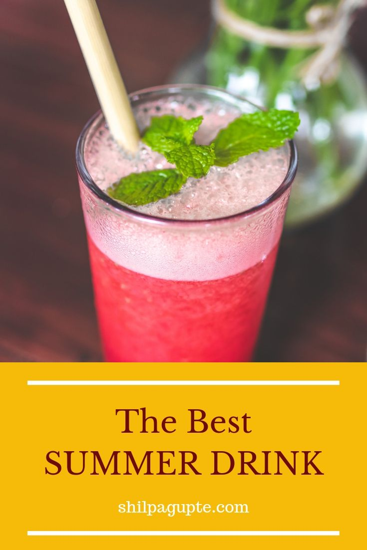 Perfect cooling and digestive drink for hot summers