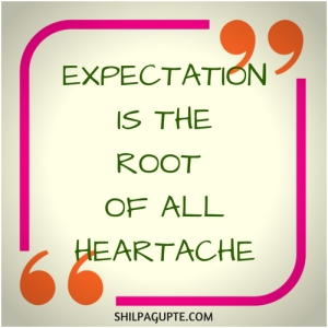 EXPECT LESS.
