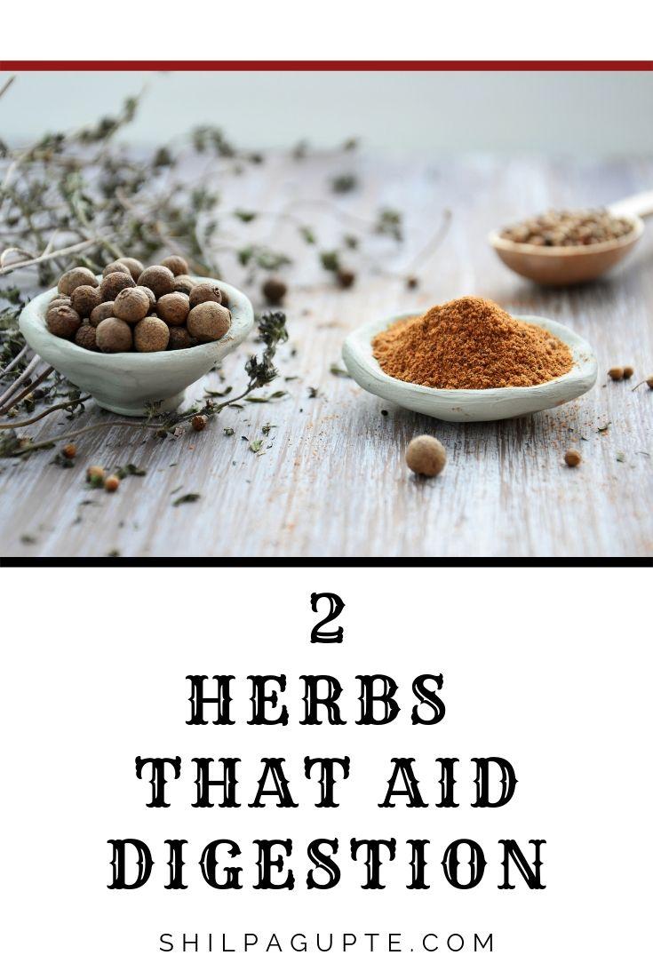 herbs that aid digestion