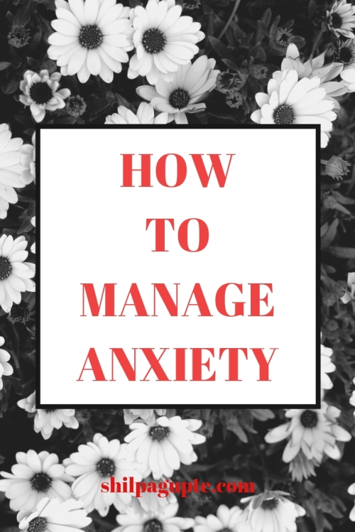 Anxiety can be managed well, if we seek timely help.