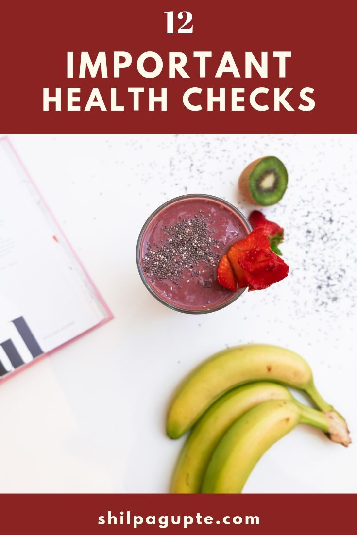 Annual health checks that are a must for all