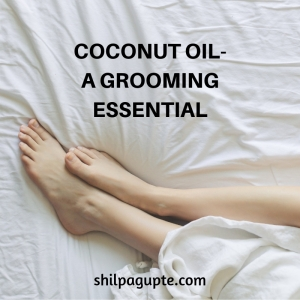 COCONUT OIL makes for a better shaving gel, than shaving gel.