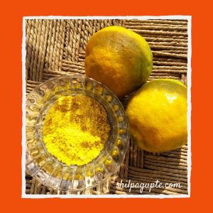 Beauty secrets of Orange Peel Powder