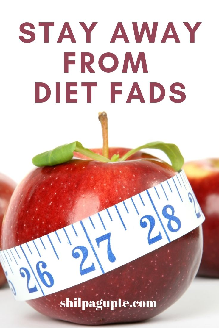 Diet fads and why they are harmful.