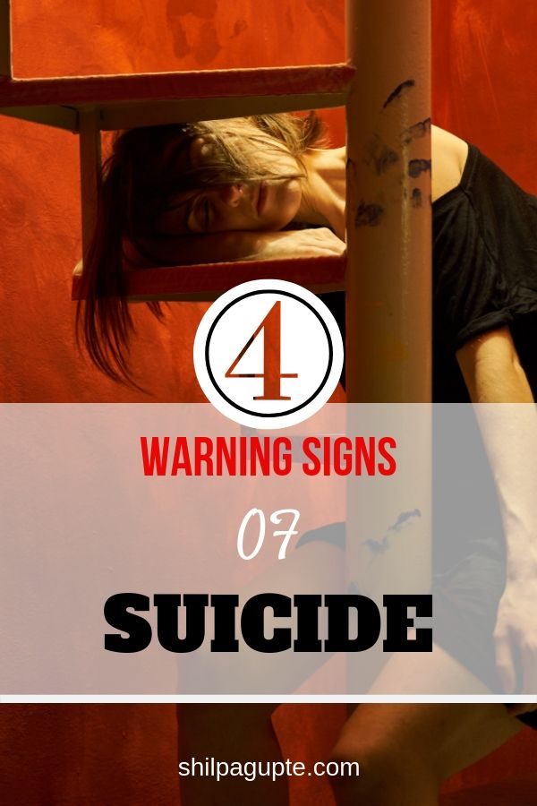 4 warning signs of suicide