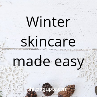 DIY SKINCARE FOR WINTER
