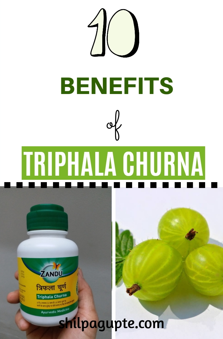 Benefits of Triphala Churna