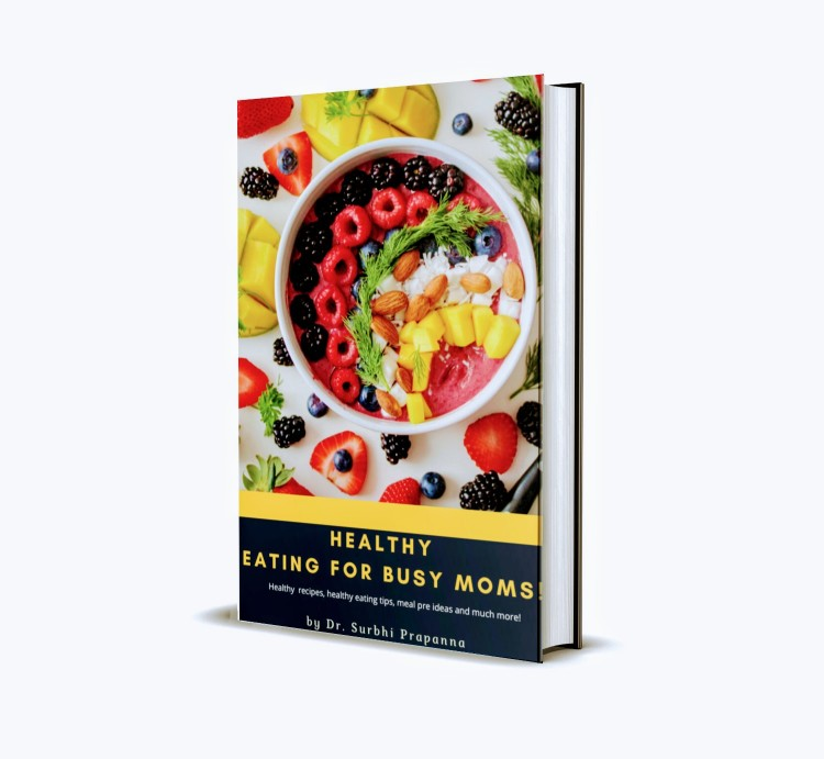 Healthy eating for busy moms - Book review