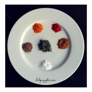 Savoury Aloo Puri