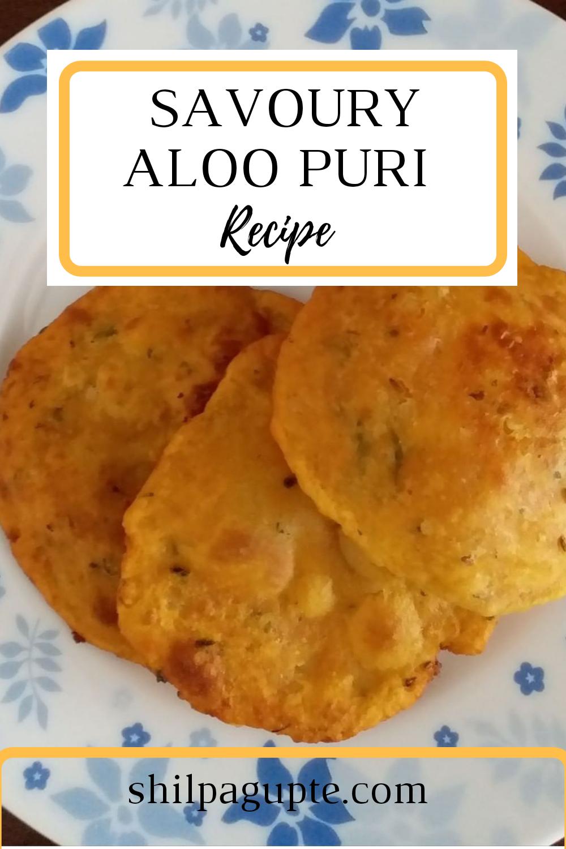 Savoury Aloo Puri - Recipe