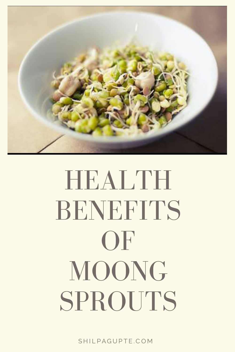 Benefits of eating sprouted moong